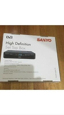 Sanyo High Definition Set Top Box-NEW IN BOX !!