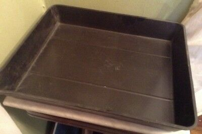 ACE American Hard Rubber Darkroom Photography Developing Chemical Tray