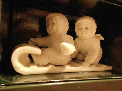 """Dept 56 Snowbabies Down The Hill We Go """"NEW"""" #56.79600"""