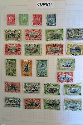Belgian Congo Stamp Collection