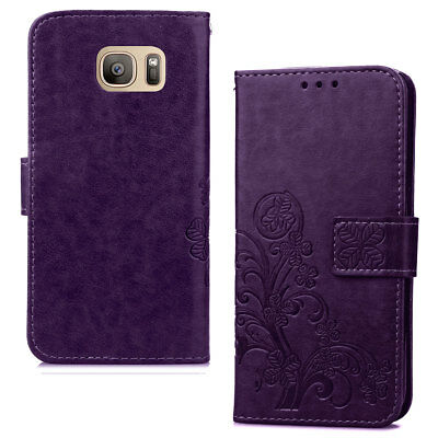 Slim Leather Pattern Card Wallet Magnetic Flip Phone Case For Samsung Galaxy S5