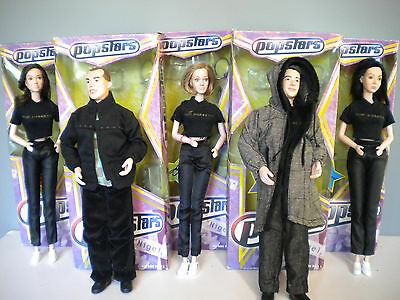 POPSTARS HEAR SAY-5 dolls + boxes - Yaboom Toys 2001