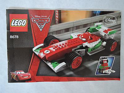 disney cars lego instructions
