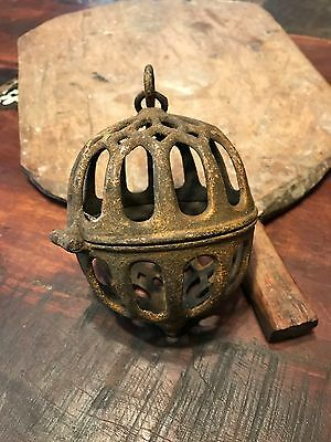 Antique Victorian Cast Iron Twine  Ball- Reduced Price