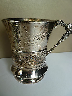 Vintage Silverplated Marked 104 Svyte Philad Cup