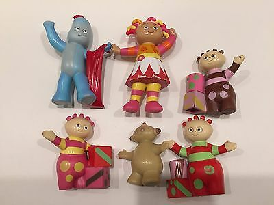 In The Night Garden Toy Figures Lot Hasbro 2006