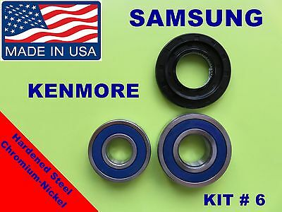FRONT LOAD WASHER,2 TUB BEARINGS AND SEAL, Samsung,Kenmore  KIT # 6 ,DC62-00223A