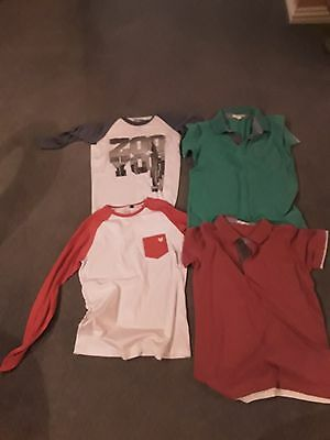 boys tshirts size 12 and polo tops