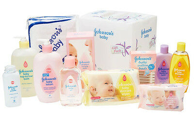 Johnson's Baby Shower Gift Pack Value Pack Essential Baby Products Care