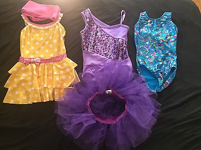 Dance Outfit Lot, Fits Size 5/6