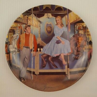 The Carousel Waltz Musical Theater Porcelain Collector Plate Dan Brown Movie