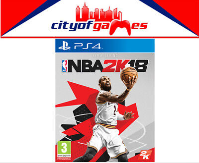 NBA 2K18 PS4 Game New & Sealed Free Express Post  In Stock Now