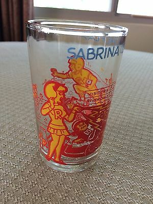 Welch's Jelly Glass 1973 The Archies Sabrina Calls The Play With Sabrina Bottom