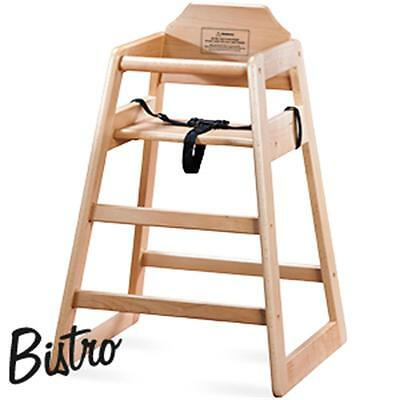 Bistro Baby Feeding Easy Comfortable Wooden High Chair Quality Material Wood