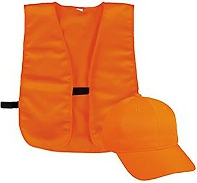 Outdoor Cap BLZCPVY Youth Blaze Orange Cap & Vest Combo