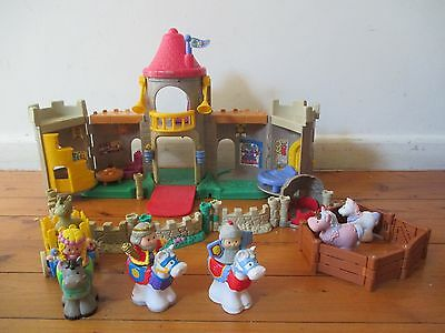 Fishe - Price little people kingdom with horses, unicorn and Knight