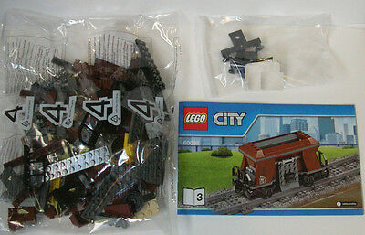 Lego Train Brown Hopper Wagon from 60098 - BRAND NEW