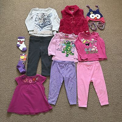 17 items preloved girls size 2 winter clothes