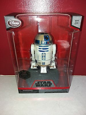 "Star Wars 6"" Elite Series Die-Cast Figure R2-D2 Boxed The Force Awakens Mint mib"