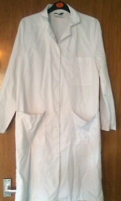 Richardsons Of Leicester Laboratory White Coat Size 32 Inches- 84cm Reg