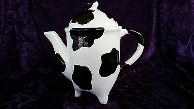 Novelty Cow pattern Ceramic Coffee Pot or Teapot