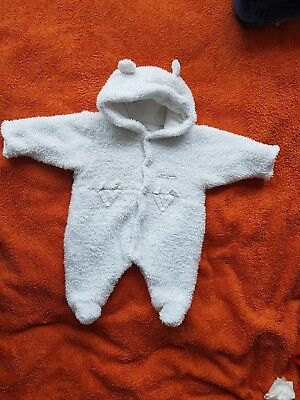 mammas and papas adorable newborn polar bear suit boy/girl