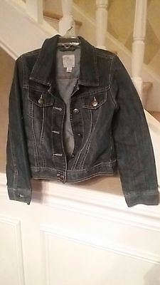The Children's Place Girls  Blue Denim Jacket Size 7-8- EUC, worn once adorable!