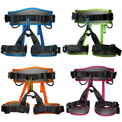 Safety Harness Seat Bust Belt Rock Climbing Arborist Rescue Fall Protection Gear