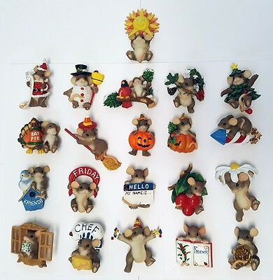 Charming Tails Magnet & Pins - Lot 21