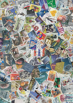 200 different NORWAY stamps, mostly recent. Nice selection