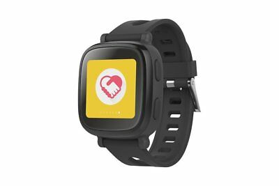 Oaxis kids child WatchPhone hybrid with 3G voice call tracking safety-Black