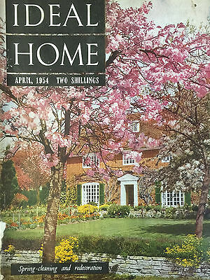 Ideal Home Magazine April 1954 Tradition In Design & Decoration ,the Canterbury