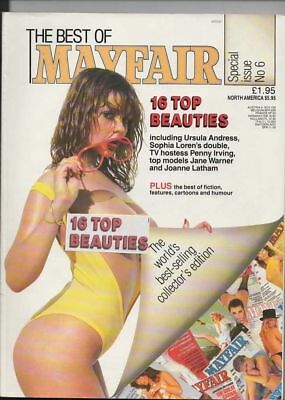 best of mayfair magazine number 6 mens adult glamour magazine