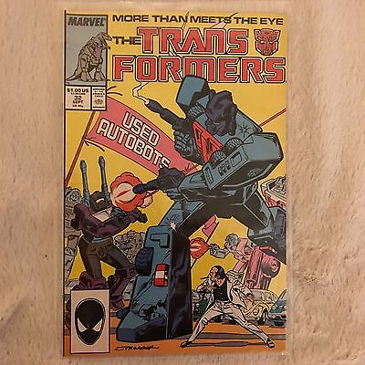 Transformers Comic Book Issue #32 September 1987 - FREE BAG & BOARD!
