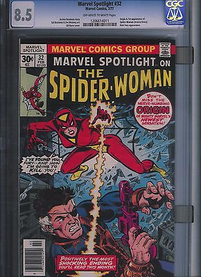 Marvel Spotlight # 32 CGC 8.5  Off White to White Pages. UnRestored.