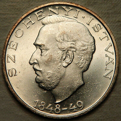 Hungary Silver 10 Forint 1948 (Unc)