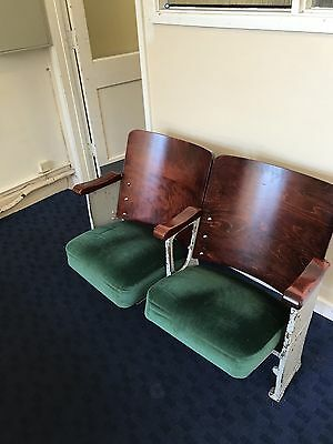 Antique cinema seats
