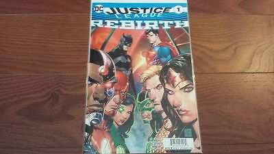 DC Justice League Rebirth