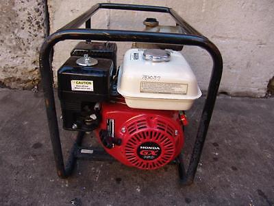 Honda 2 Inch Water Trash Pump Honda Motor Model Wb-30X Nice Shape