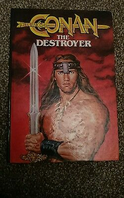 Conan the destroyer annual hardback 1984