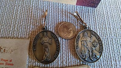 St FRANCIS / ST ROCH Pet Dog Medal / Tag  Our Own NEW / New  Orleans  Design