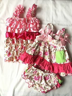 Set Of 2 Tutu And Lulu Outfits Size 3-6 Months