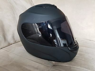 HJC full face black helmet size S