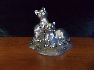 Lenox Kirk Stieff Collection Cat Salt & Pepper Shakers