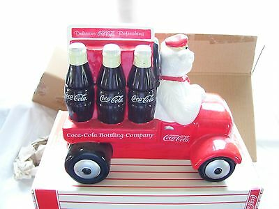 Coca Cola Cookie Jar 1999 large new in box