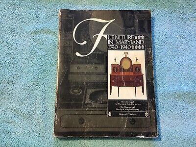 Antique Maryland Furniture Historical Society Collection Catalog 1740-1940 RARE