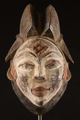 Old Maiden Punu Mask Gabon.......Fest- 238