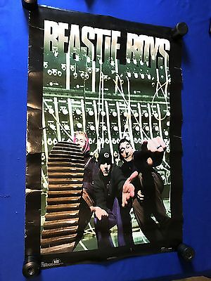 T vintage 1994 Beastie Boys POSTER Winterland/Rock Express USED 23x34in