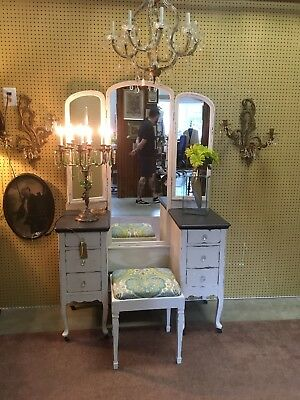 Antique Vanity Chalk Painted