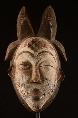 Old Maiden Punu Mask Gabon.......Fest- 245